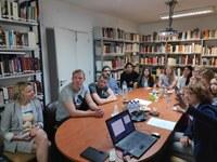 Visita ao CEPESE de alunos de Mestrado da Universidade de Hamburgo