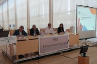 """International Seminar """"The Iberian Press at the service of Information - Freedom and Responsibility"""" [Photos]"""