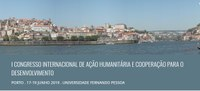 I Congresso Internacional de Ação Humanitária, Cooperação e Desenvolvimento