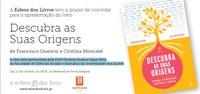 """Lançamento do livro """"Descubra as suas origens"""""""