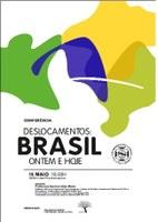 """Palestra """"Deslocamentos: Brasil, ontem e hoje"""""""