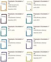 """Revista """"População e Sociedade"""" na plataforma ScIELO Portugal"""